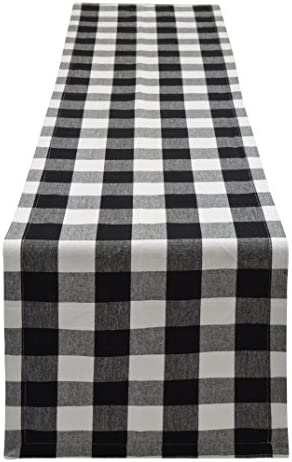 Yourtablecloth Buffalo Checkered Tablerunner Elegant product image