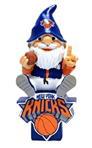 Forever Collectibles New York Knicks Gnome On Team Logo