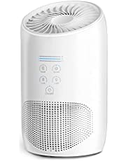 HEPA Air Purifiers for Home Bedroom, Aromatherapy Design, BS-03 Air Purifier for Pets Smokers, Quiet Clean 99.97% PM2.5, Pol-len, Smoke, Odor, Dust, Pet Dander