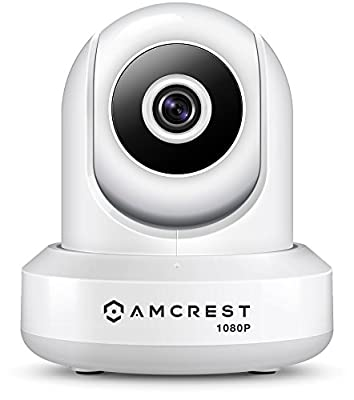 Amcrest ProHD 1080P WiFi Wireless IP Security Camera - 1080P (1920TVL), IP2M-841 (Silver), Works with Alexa by Amcrest