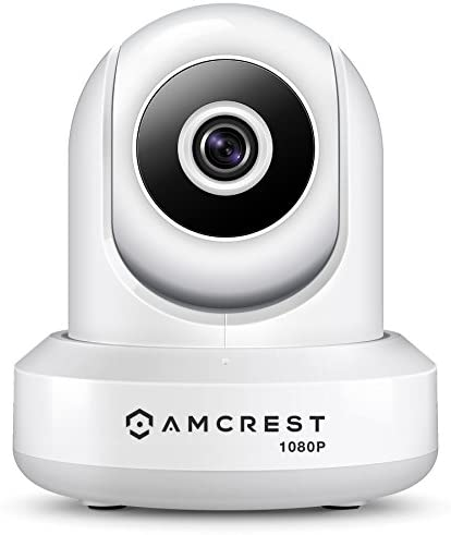 Amcrest 1080P WiFi Security Camera 2MP Indoor Pan Tilt Wireless IP Camera, IP2M-841W White