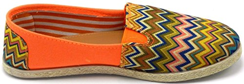 Scarpe Da Ginnastica Basse Multi Colore Delle Donne Sneakers In Tela Su Scarpe Da Spiaggia Piatte Moda Estate B * 2211orange