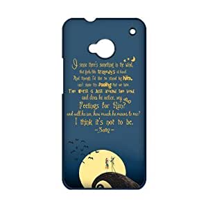 Disney the Nightmare Before Christmas Series HTC One M7 Hard Case Cover Protector Gift Idea by icecream design