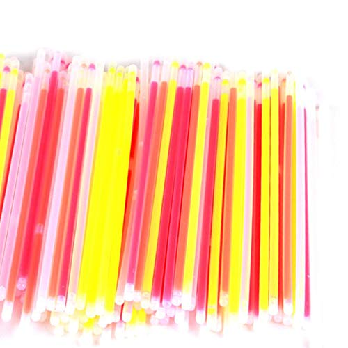 (Glow Party Supplies - Glow Sticks Bulk 300 Count Pcs 8 Inch Brand Premium In The Dark Light Makes Tons Of Necklaces And - Adult Glasses Birthday Bundle Plates Bulk)
