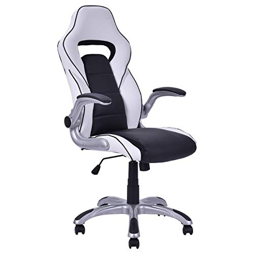 Pneumatic Seat Swivel Series Adjustment (Executive Racing Style Gaming Chair with Adjustable Armrest)