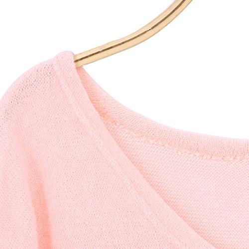 Manches Femme Xinantime Tops Automne Longues Col hiver Chemise Blouse Blouse V Dcontracte Rose Femmes Tops EzqApwSxw0