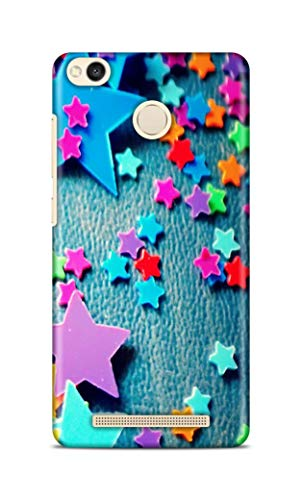 Shengshou Mobile Back Cover for Mi Redmi 3S Prime Design Stars ABC112T34259
