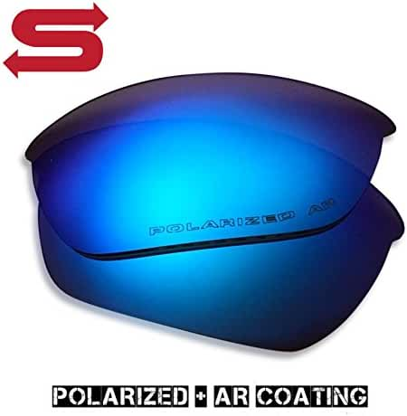 BLUE ICE Oakley Half Jacket 2.0 Lenses POLARIZED by Lens Swap. GREAT QUALITY & FITS PERFECTLY. Oakley Half Jacket 2.0 Replacement Lenses.