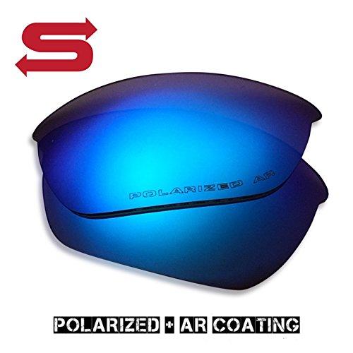 BLUE ICE Oakley Half Jacket 2.0 Lenses POLARIZED by Lens Swap. QUALITY & PERFECT - Half Polarized Lenses Jacket