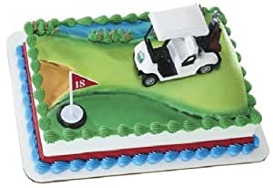 How To Make A Golfer Cake Topper