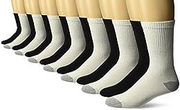 Men's Crew Socks 10 Pairs