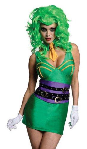 Secret Wishes DC Comics Super Villain Joker Costume,