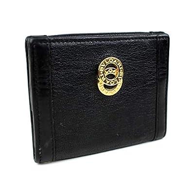 663708af370d (ブルガリ) BVLGARI BVLGARI 小銭入れ コインケース 黒 ドッピオトンド i872 [中古]