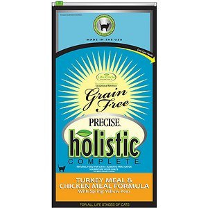 Precise 726531 5-Pack Holistic Complete Grain Free Turkey/Chicken Food for Pets, 6-Pound