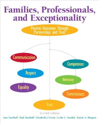 Families, Professionals, and Exceptionality: Positive Outcomes Through Partnerships and Trust, Loose-Leaf Version with Pearson eText -- Access Card Package (7th Edition) by Turnbull, Ann, Turnbull, H. Rutherford, Erwin, Elizabeth J., (2014) Loose Leaf