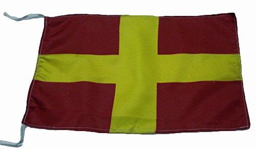 "8/"" X 13/"" Nautical // Boat // Maritime Naval Signal Flag Marine Code H"
