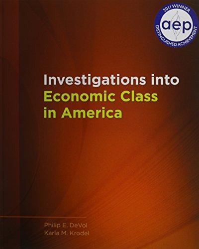 Investigations into Economic Class in America