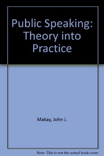 PUBLIC SPEAKING:THEORY INTO PRACTICE+