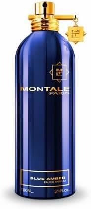 MONTALE Blue Amber Unisex Eau de Parfum, 3.3 Fl Oz