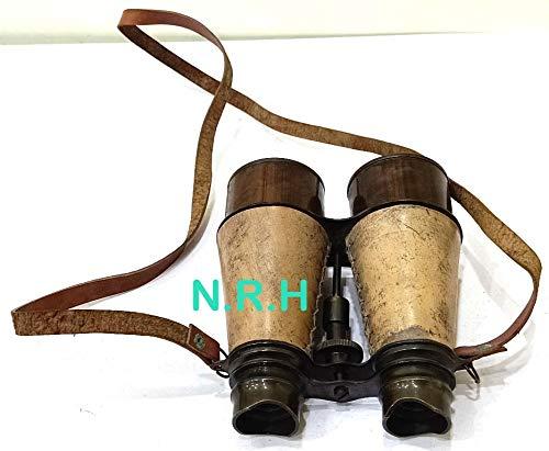 R/éplica n/áutica Hub Antiguo Marino Victoriano prism/áticos Hecho a Mano cintur/ón de Cuero Pulido lat/ón 6 Pulgadas