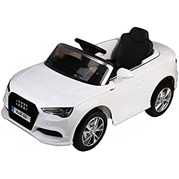 costzon licensed audi a3 kids ride on car 12v rc powered riding toy vehicle w