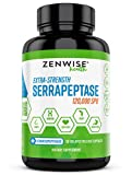 Serrapeptase 120000 SPU – Sinus & Nasal Relief + Immune Booster – Joint Support & Proteolytic Digestive Enzyme Supplement – for Natural Heart & Cardiovascular Health – 30 Delayed Release Capsules Review