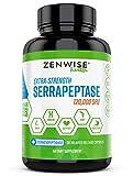 Serrapeptase 120000 SPU - Sinus & Nasal Relief + Immune Booster - Joint