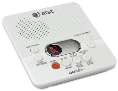 At&T Digital Answering System White