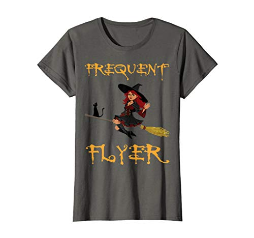 Last Minute Costume Ideas For Halloween (Frequent Flyer Witch Shirt Last Minute Halloween Costume)
