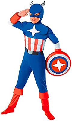 Disfraz Super Héroe América niño infantil (10-12 años)