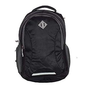 MONCI Laptop Bag for Women and Men | Backpacks for Girls Boys Stylish | Trending Bagpack | School Bag | Bag for Boys Kids Girl | 18 Inch Laptop Bag | Blue (Black)