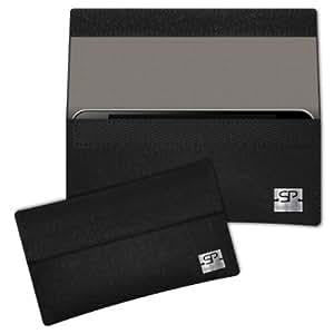 SIMON PIKE Cáscara Funda de móvil NewYork 7 negro Huawei U8180 Gaga Fieltro de lana