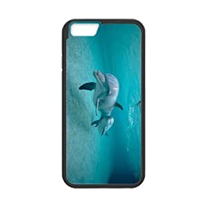 ALICASE Diy Hard Cover Case Of Dolphin for iPhone 5 5s [Pattern-1]