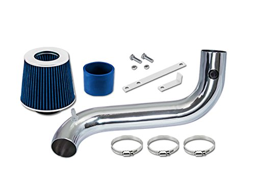 ST Racing Blue Short Ram Air Intake Kit + Filter 92-95 Chevrolet S10 S10 Blazer 4.3L V6 ()