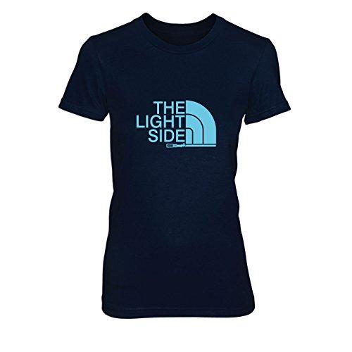 The Light Side - Damen T-Shirt, Größe: XL, dunkelblau