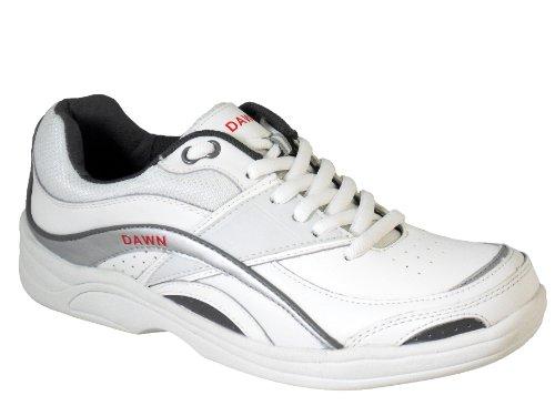 Estilo Cuero Mujeres Tamaños 3 Corona 8 deportivo Tazones Unido Reino a Amanecer Entrenador Césped Zapatos IqqUt