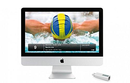 eyetv T2 hybrid- la t/él/évision en direct sur Mac et PC Geniatech Blanc GT-1T220160401