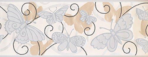 Wallpaper Border - Butterfly Wallpaper Border 5402 BS