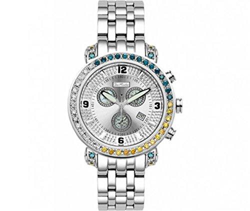 Joe Rodeo Diamond Men's Watch - TYLER silver 4.5 ctw