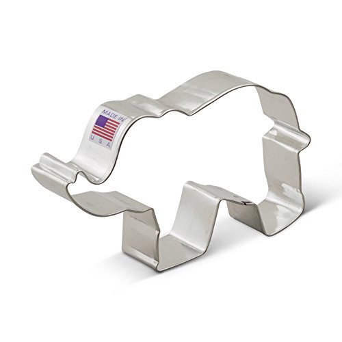 Ann Clark Elephant Cookie Cutter - 5 Inches - Tin Plated Steel (Circus Cookie Cutters)