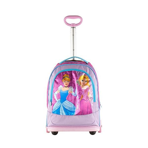 Big Trolley Disney , PRINESS DREAMY DRESS , Rosa , 30 Lt , 2in1 Zaino con spallacci a scomparsa , Scuola & Viaggio 3 spesavip