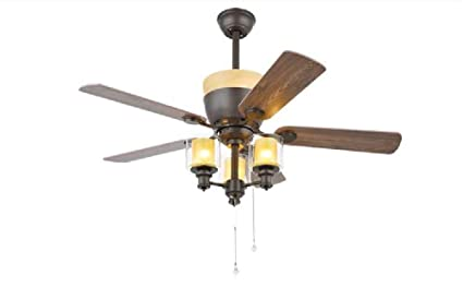 Buy Kanz Enterprises Metal Antique Look Ceiling Fan With Led Light