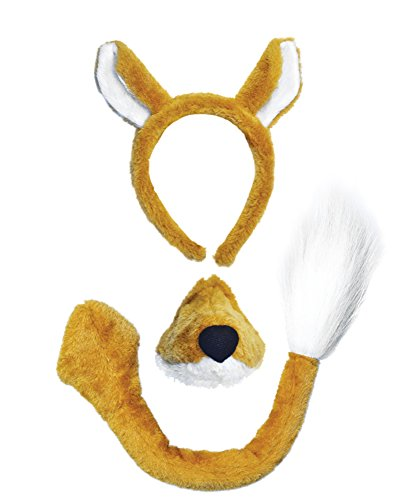 Bristol Novelty Fox Costume Accessory Set and Sound ()