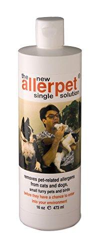 Allerpet 10016 Single Solution for Pets 16oz by Allerpet