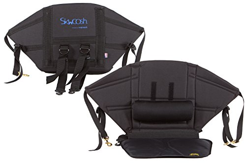 Skwoosh Kayak Comfort Mid Height Back Kayak Seat with Adjustable Lumbar Support | 13.5