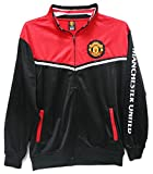 Manchester United Track Jacket Black Soccer NEW (XL)
