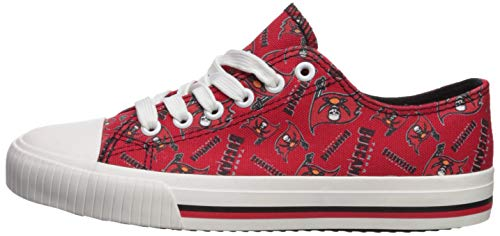 c4b370b8 FOCO NFL Womens Low Top Repeat Print Canvas Shoes - KAUF.COM is ...