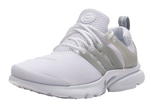 Nike Presto Gs Youth Boys Scarpa Da Corsa Bianco / Metallico Argento-bianco Blu / Verde