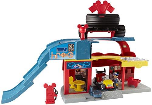 Fisher-Price Disney Mickey y los Roadster Racers, juego de garaje Roadster Racers