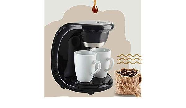 2 tazas Cafetera de goteo Cafetera eléctrica automática de 500 W ...